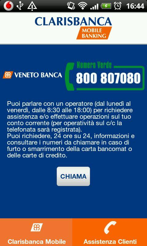 Clarisbanca Mobile Banking - screenshot