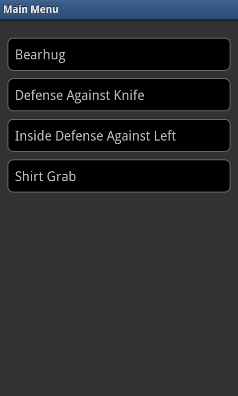 Krav Maga - Free- screenshot