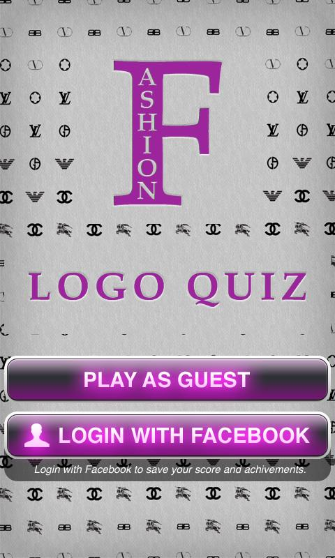 Fashion Logo Quiz Game: Brands - screenshot