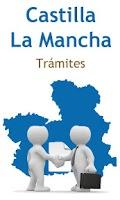 Screenshot of Trámites Cast. La Mancha Free