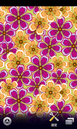 春の花柄♪壁紙【スマホ待受壁紙】