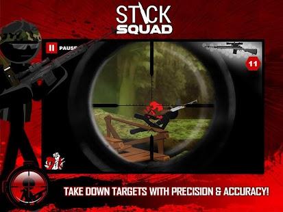 Stick Squad - Sniper contracts- screenshot