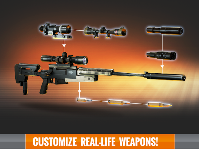 Sniper 3D Assassin: Free Games APK+DATA Mod 1.6.2 [Lastest] - screenshot