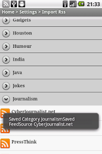 Rss Aggregator screenshot 6