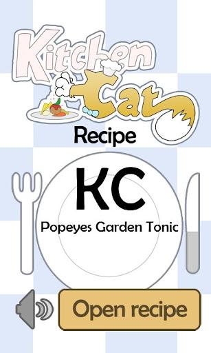 KC Popeyes Garden Tonic