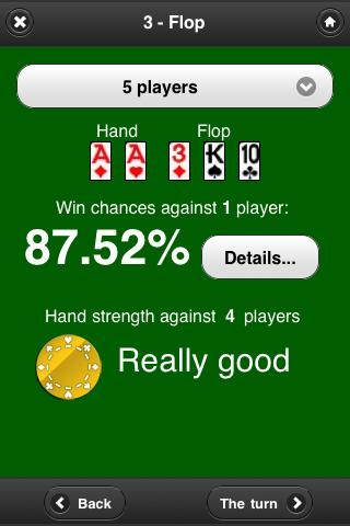 Poker Help - Ultimate Odds - screenshot