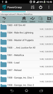 PowerGrasp file manager - screenshot thumbnail