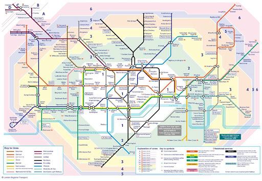 London Travel WC Maps