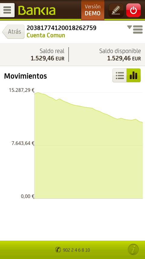 Bankia- screenshot