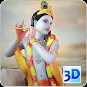 3D Krishna Live Wallpaper icon