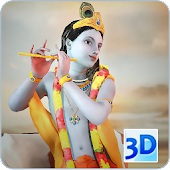 3D Krishna Live Wallpaper