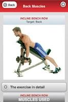 Screenshot of Muscle Building Back+Shoulders