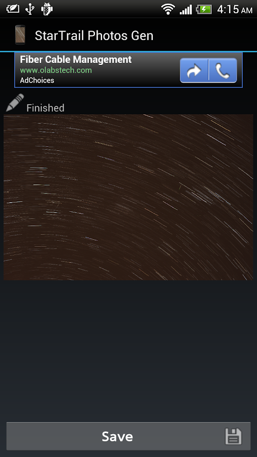 StarTrail Photos Generator- screenshot