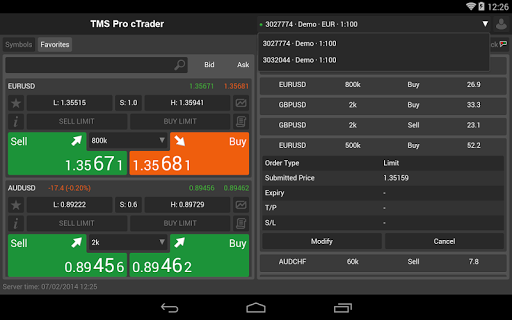【免費財經App】TMS Pro (Powered by cTrader)-APP點子