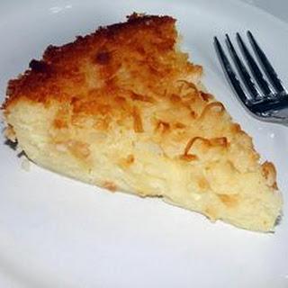 Impossible Coconut Pie I
