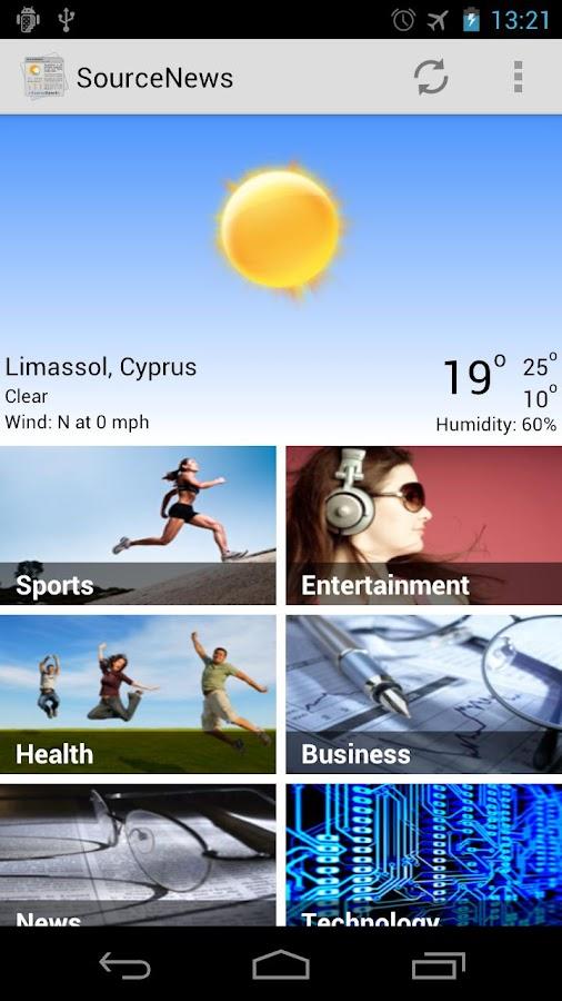 SourceNews Κύπρου - screenshot