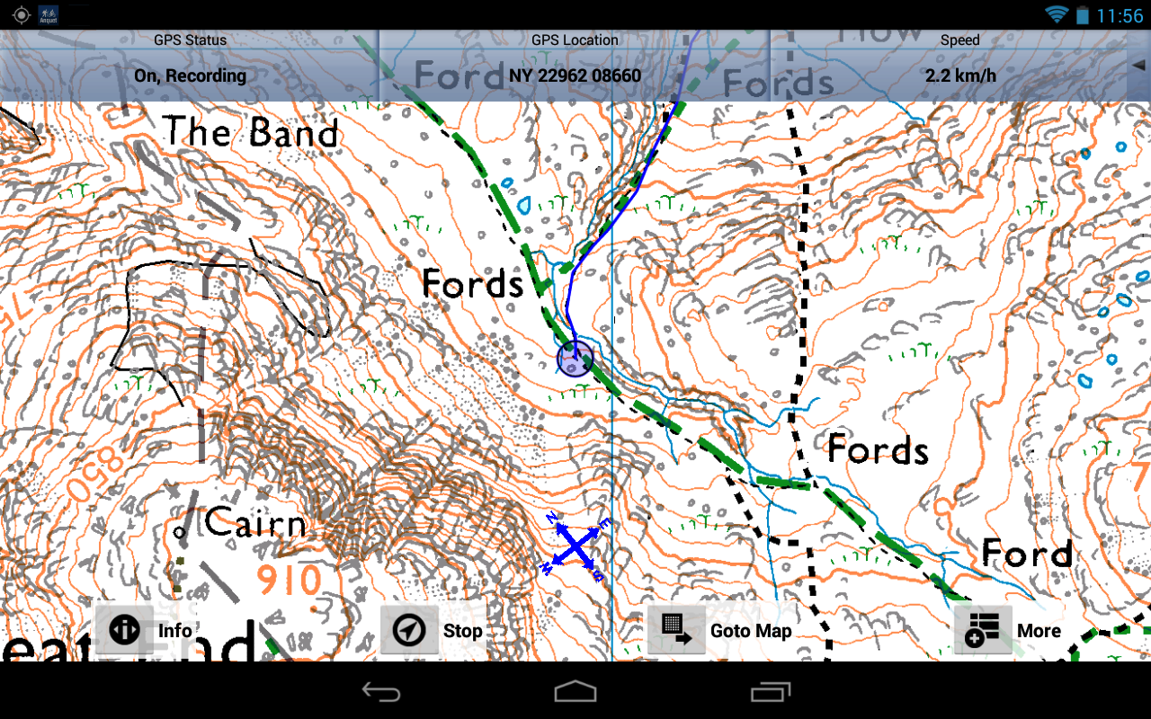 Outdoor Map Navigator- screenshot