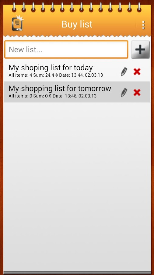 Shopping List - Android Apps On Google Play