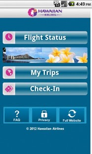 Hawaiian Airlines- screenshot thumbnail