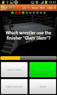 Do you know?  Wrestling Quiz - screenshot thumbnail