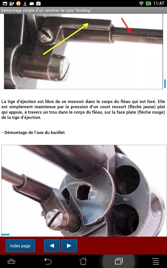 "Revolvers de type ""Bulldog""- screenshot"