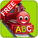 Free Learn ABC Train & Chart icon