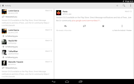 Fenix for Twitter Screenshot 3