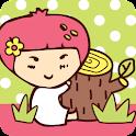 딸기가좋아 키즈 카카오톡 테마 icon