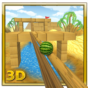 Watermelon Balance 3D Ball for PC and MAC