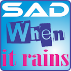 Sad & Rain Live Wallpaper icon