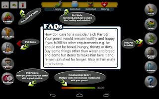 Screenshot of Pet Parrot - 2D Pet Simulator