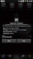 Screenshot of Reboot Widget