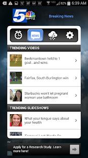 Alarm Clock WPTZ NewsChannel 5 - screenshot thumbnail