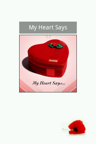 My Heart Says... - screenshot