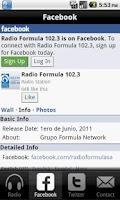 Screenshot of Radio Formula San Antonio