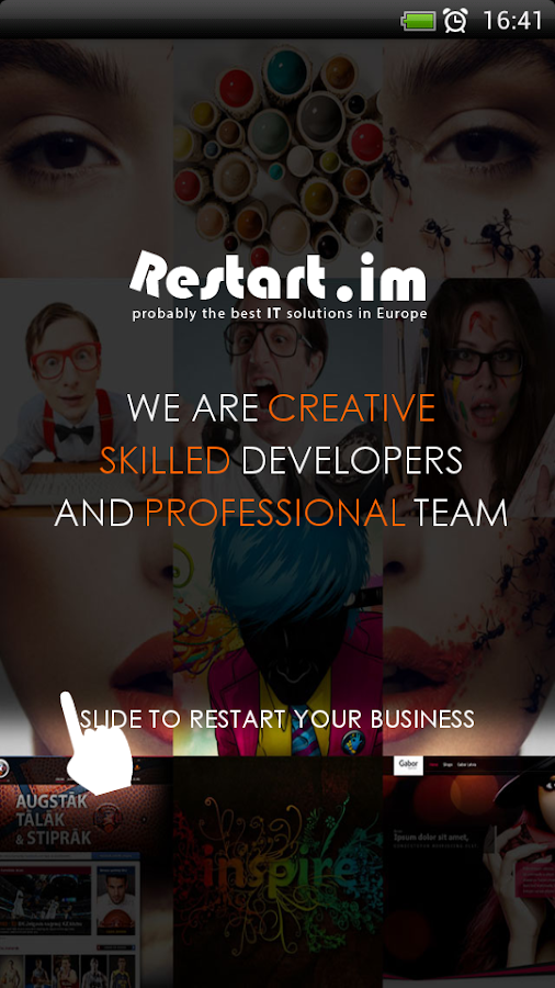Restart.im - Apps for Business- screenshot