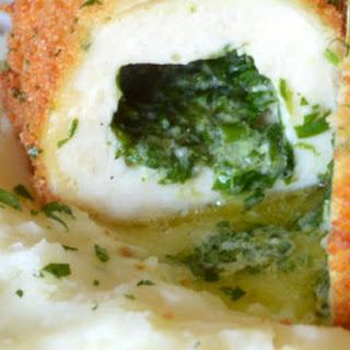 Chicken Kiev {with Fresh Herbs & Garlic}