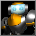 Dancing Robot Live Wallpaper icon