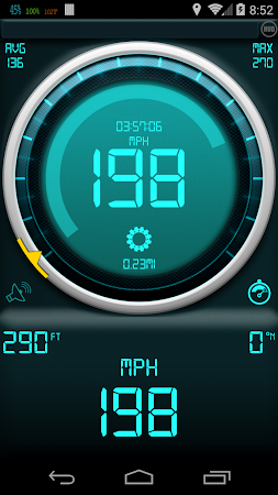 Gps Speedometer 1.3.2 screenshot 378889