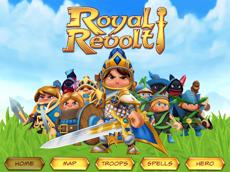 Royal Revolt! APK screenshot thumbnail 8