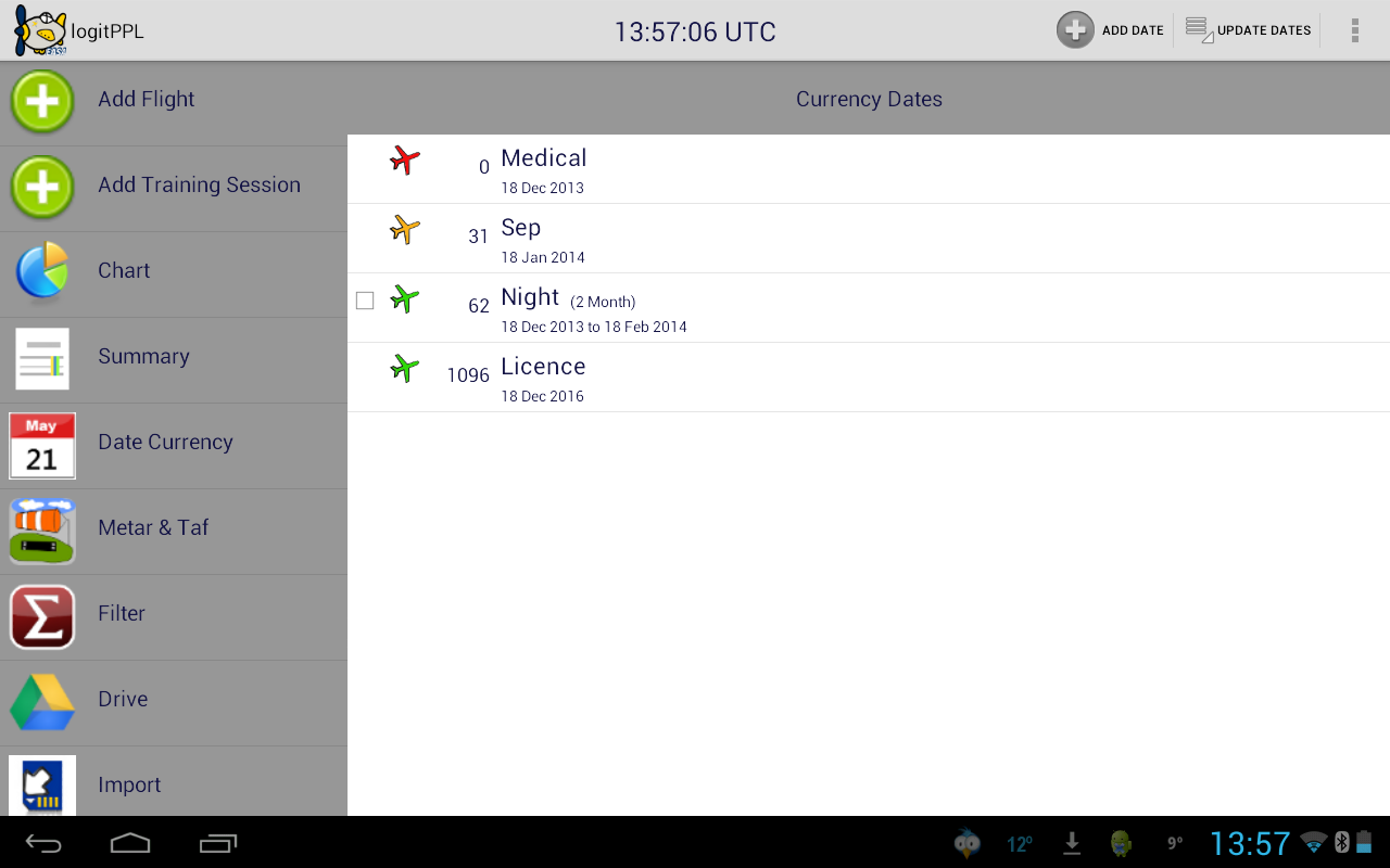 logitPPL EASA- screenshot