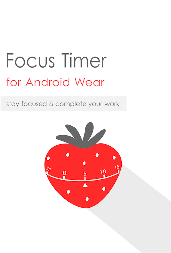 Focus timer for Android Wear