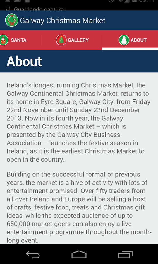 Galway Xmas Market- screenshot