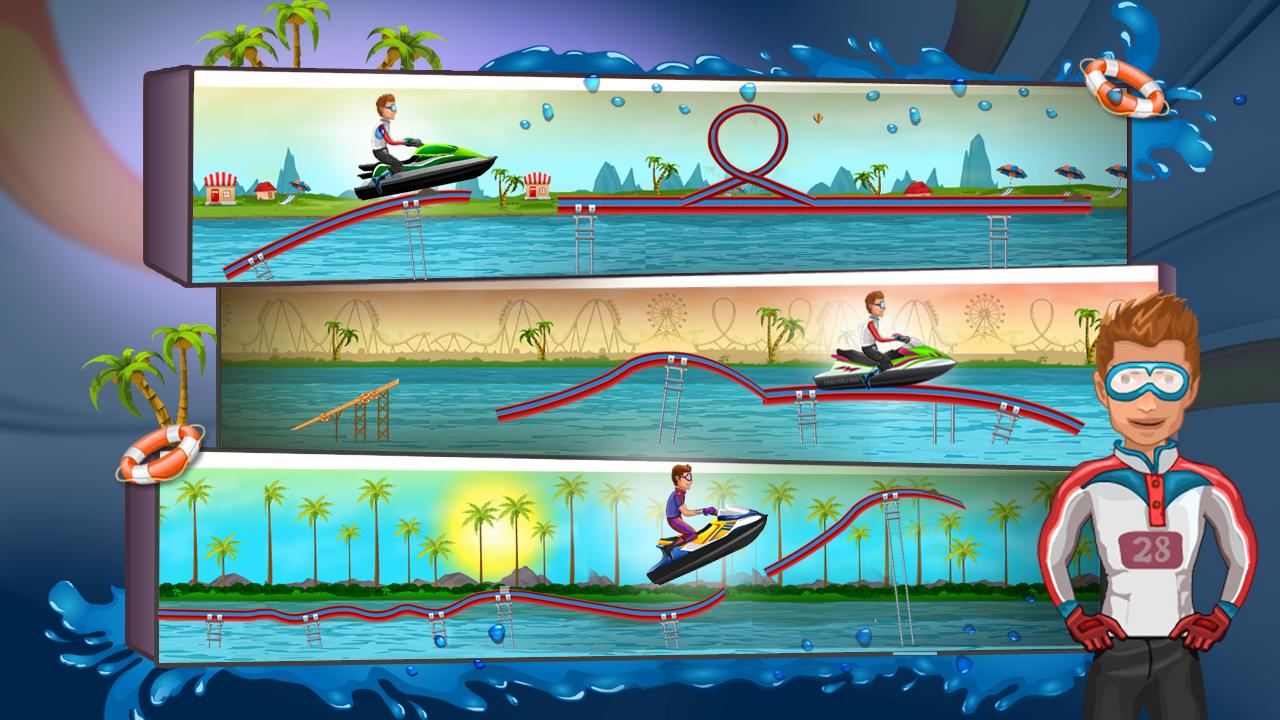 Water Racing- screenshot