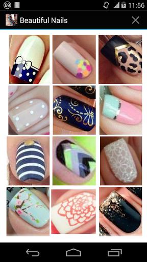 美丽的指甲