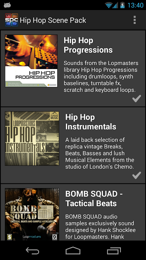 SPC Hip Hop Scene Pack - screenshot