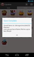 Screenshot of ThemeX: Extract Launcher Theme
