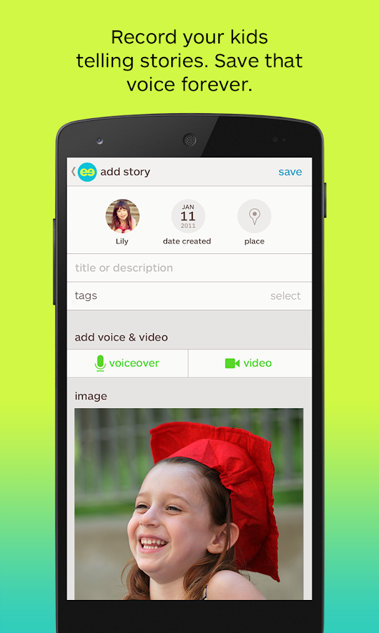 Keepy: save family memories - screenshot