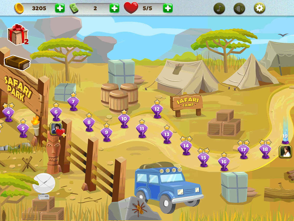 Safari Escape- screenshot