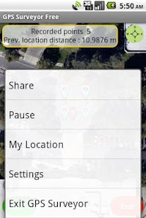 GPS Surveyor Free - screenshot thumbnail